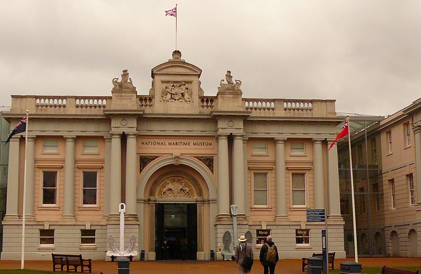 National Maritime Museum, 2009 (formerly pt of Greenwich Hospital School)