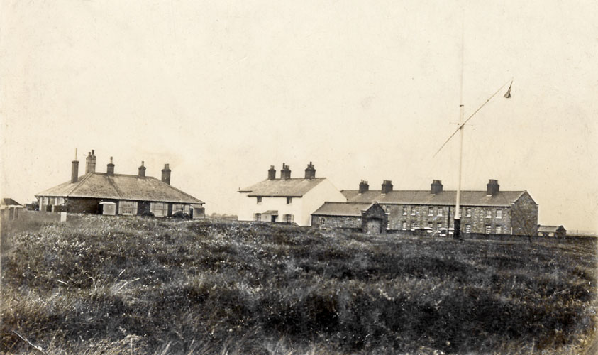 Sandwich Bay Wireless Station, 1912 (formerly Shingle End Coastguard Stn.)